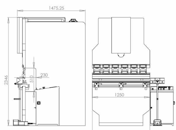 Workshop Press, Hydraulic Press, Press Brake, Shipbuilding