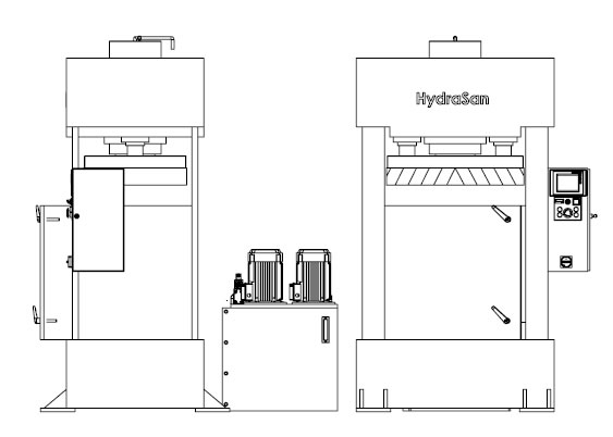 Workshop Press, Hydraulic Press, Press Brake, Shipbuilding Press