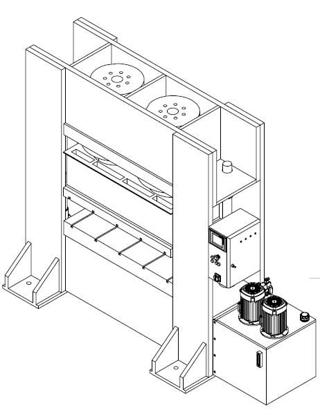 Workshop Press Hydraulic Press Press Brake Shipbuilding Press
